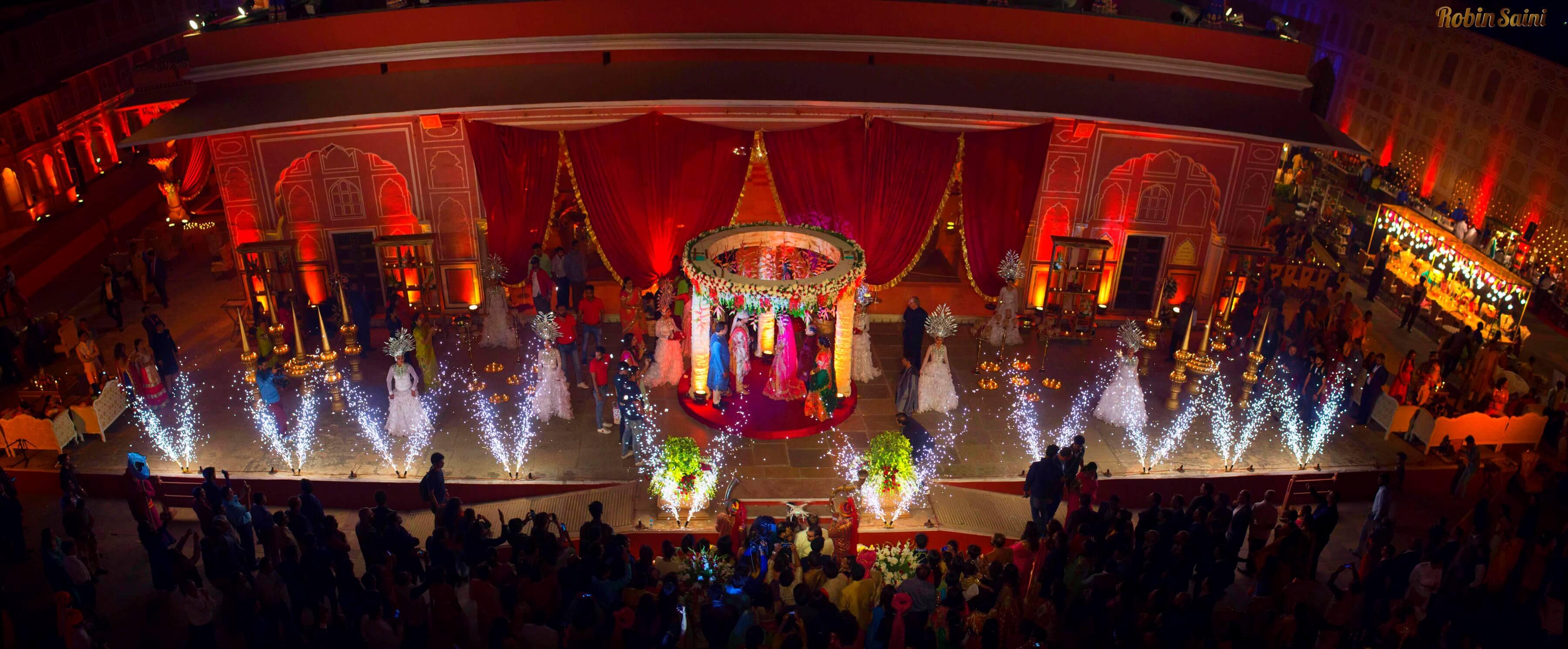 Royal Destination Wedding