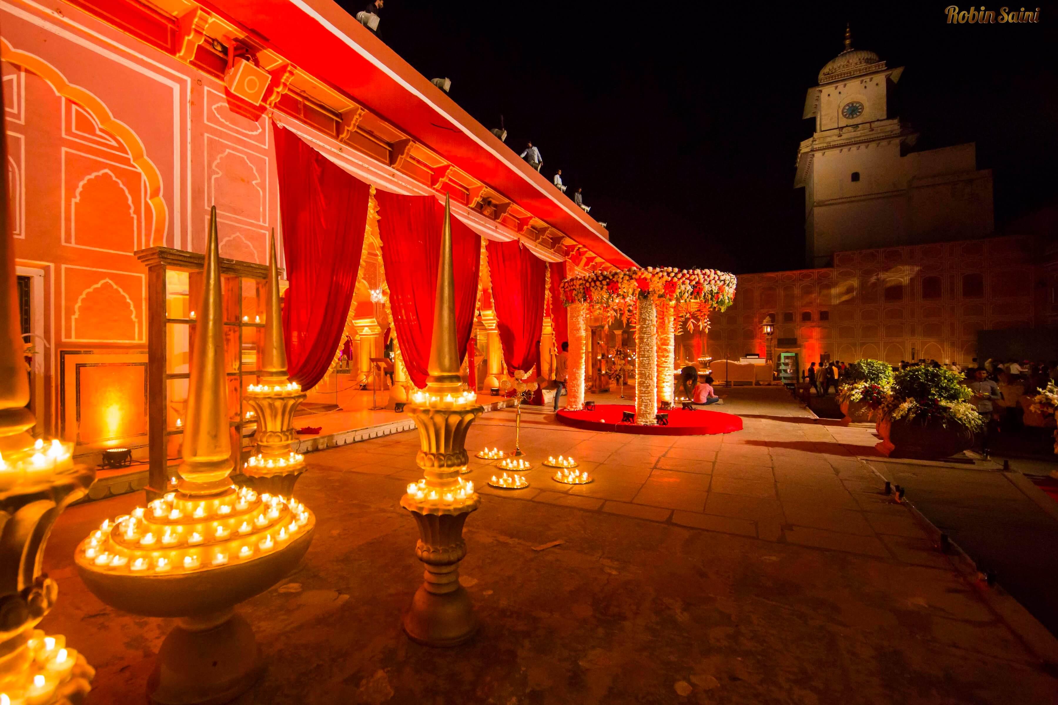Destination Wedding in City Palace