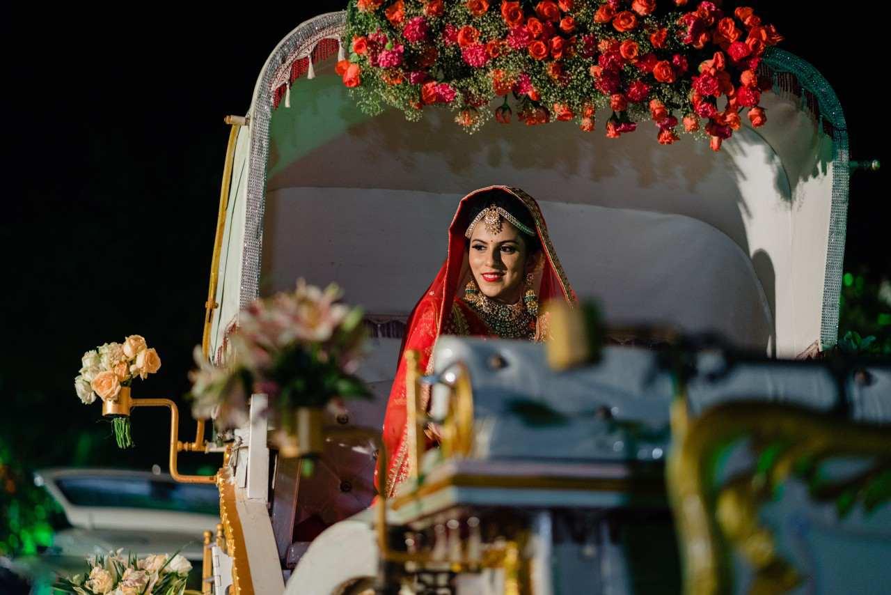 Royal Bridal Entry
