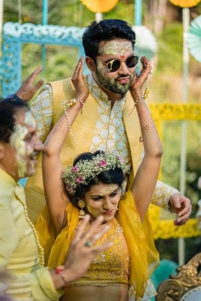 Wedding Haldi Celebration