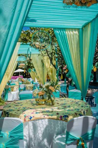 Wedding Haldi Decoration
