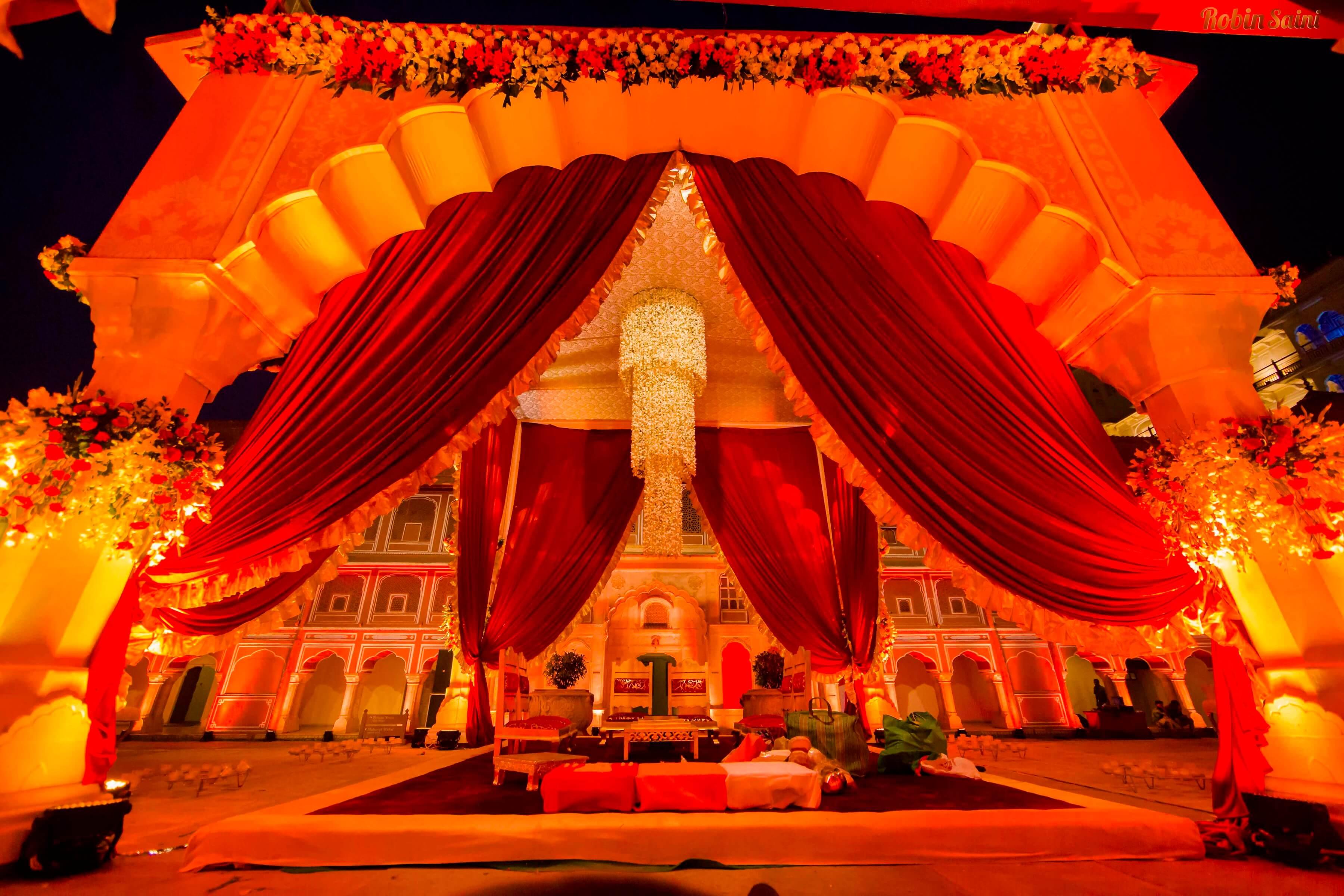 Royal Mandap Decoration